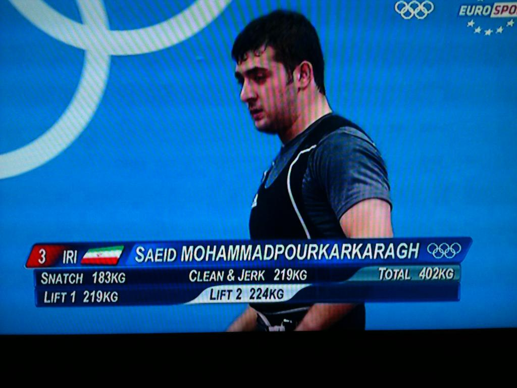 Funny Names: Olympics 2012: Saeid Mohammadpourkarkaragh And His