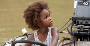 Young Quvenzhane Wallis as Hushpuppy.