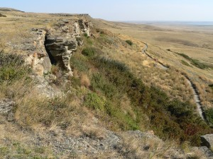 Head-Smashed-In Buffalo Jump. What more is there to say?