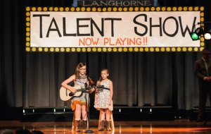 Lennon and Maisy Stella talent show