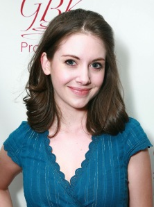 "A picture of the lovely Alison Brie, because her name is cheese-related and Amb got 3 hits this week for ""Joel McHale shirtless."" I don't want to be outdone, especially when Community is involved."