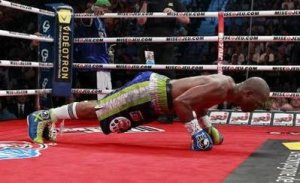 Bernard Hopkins. 48, M. Hobbies include entering the ring dressed like an executioner, drinking fountain of youth juice, winning world titles, and doing pushups between rounds to embarrass his younger opponents.