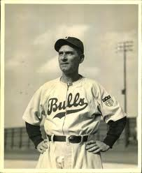 Betzel as manager of the iconic  Durham Bulls c. 1943.