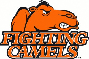 Campbell Fighting Camels, which just so you know, is trademarked, in case anyone else tries to steal that awesome and geographically relevant name!
