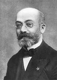Ludwik Zamenhof, famed now for having invented Esperanto, and in his day for winning six consecutive Best Facial Hair in Poland Awards.