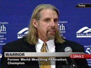 Warrior has appeared on C-Span to discuss his political views. What a guy!