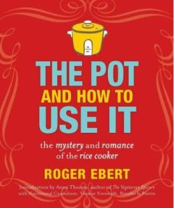 We love cookbook authors on this blog, but Ebert might be the only one who wrote his book when he could no longer eat because of his illness.