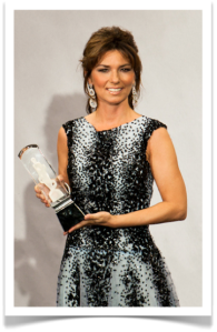 Shania at the 2011 Juno Awards. Copyright (2) Sara Collaton