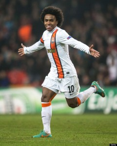 Willian and his magic hair.