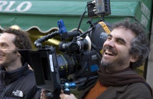 Alfonso Cuaron, having a good laugh at all our funny names coverage.