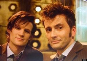 My Doctors, saving the world and looking scruffy. No, I'm not getting over this any time soon, why do you ask?