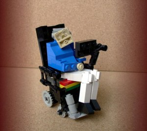 LEGO Steven Hawking technically has nothing to do with anything but he exists, and that's probably newsworthy enough for this blog.