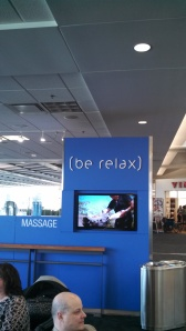 "How can I ""be relax"" when I'm constantly thinking of how grammatically incorrect this is?"