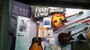 And a guitar and case used by the legendary Furry Lewis!
