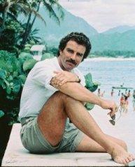 Magnum PI short shorts