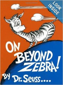 on beyond zebra