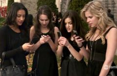 pretty little liars text from A
