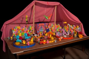 one Schomburg Family's entry into the St. Paul Pioneer Press's 2010 Peeps Diorama contest