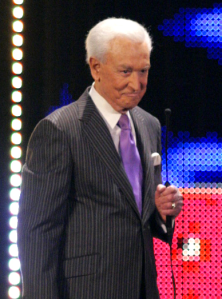 Bob Barker, special guest host, at WWE Raw. (Dave this one's for you.)