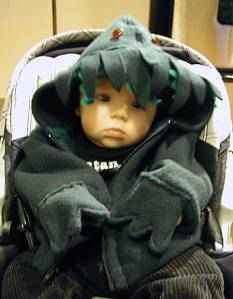 A Cthulhu Baby! Isn't it adorable?!?