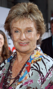 Cloris in 2009. I hope I look that good at 83. Photo courtesy of Angela George.