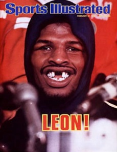 OK fine, that's Leon Spinks' Sports Illustrated cover, but it's impossible to find a good picture of Herbertine Walker!