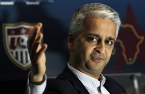 Sunil Gulati! I like the fella already!