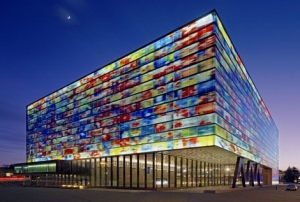 This lovely radio and television museum is located in Hilversum, the Netherlands. Pay a visit sometime!