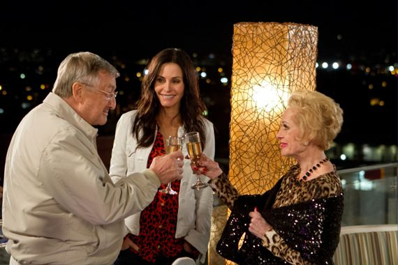 Tippi making Chick swoon on Cougar Town! Go Tippi!