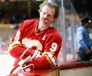 Lanny McDonald, a Calgary Flame with a flaming red mustache, exceeds all possible expectations I had for what a Lanny McDonald would look like!
