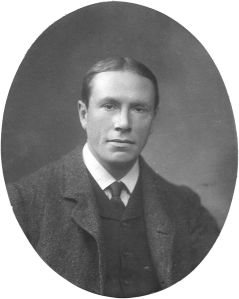 Geneticist Reginald Punnett was dominant in the field of genetics, but his hairline clearly wasn't recessive.
