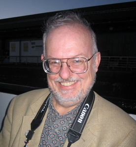 Greg Bear. Photo by Geoffrey A. Landis