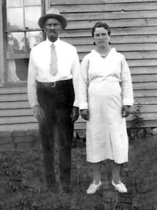 Maudie and William, in the days where you couldn't smile because photos took too long.