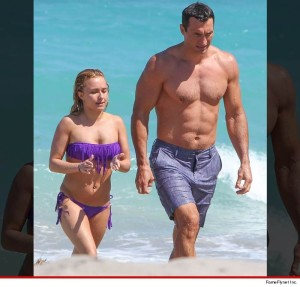 Hayden Panettiere and fiance Wladimir Klitschko have a romance that is of otherworldly proportions!