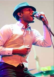 Aloe Blacc, cool with a dollar. (From wikipedia)
