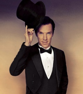 A tip of the hat to Academy Award nominated actor Benedict Cumberbatch...uh, from himself.