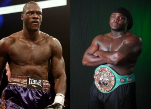 Deontay Wilder (Left) may have been the better boxer, but Bermane Stiverne (right) has the better dreads!