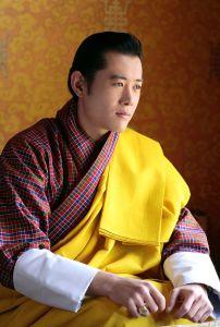 Bhutan's Dragon King, deep in thought.
