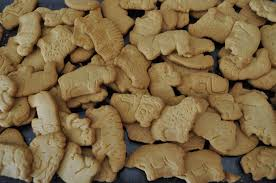 A bundle of animal crackers, earlier. This batch likely untouched by Schreckengost hands.