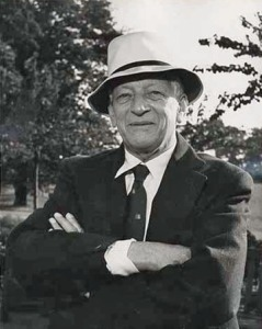 Mr. Hugh Beaver, back in the day, in a nice hat.