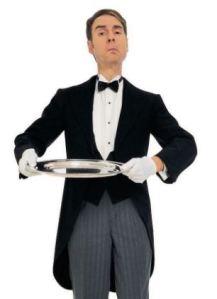 A funny name butler