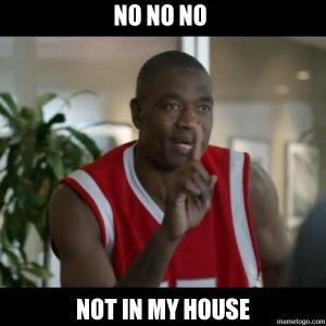 Dikembe agrees and says No No No, that's not how to end a FNITN!