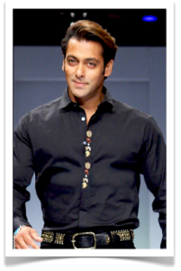 Salman Khan, Bollywood Hotty. Photo courtesy of Bollywoodhungama.com