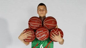 "Kristaps will have his hands full as he adapts to a new ""five players and one basketball"" format here in America."