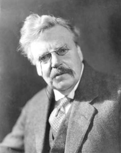 "An incredulous GK Chesterton says ""what"""