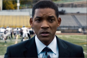 Will Smith as important Bennet Omalu. (From SONY)