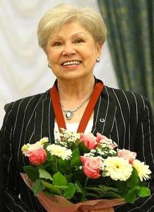 Larisa Latynina photo courtesy of www.kremlin.ru
