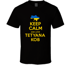 One of the first Google Hits for Tetyana Kob. I love the internet!